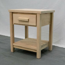 Unfinished Farmhouse Nightstand / Wood Reclaimed Nightstand / Modern / Urban /