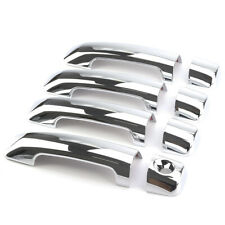 4pcs Chrome Car Door Handle Covers ABS Plastic Fits 07-19 TOYOTA TUNDRA 4-Door