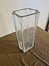 """Important vase en Cristal """" Daum France """" 36 cm de hauteur"""