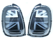 LED Tail Lights For 2014-2018 Mini Cooper F55 F56 F57 F58 - UK UNION JACK SMOKE