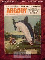 ARGOSY April 1956 JACKIE ROBINSON ENOLA GAY JACK SCHAEFER