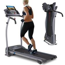 Laufband elektrisch 12 km/h LCD Display Puls Fitness Heimtrainer klappbar 125 kg