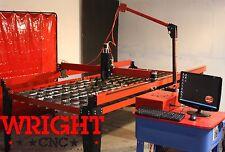 WRIGHT CNC PLASMA CUTTING TABLE  4ft x 8ft