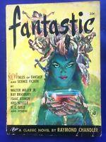 Fantastic Vol. 1 #1 Summer 1952 Sci-Fi Magazine Raymond Chandler Bradbury Asimov