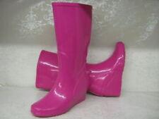 Stivali e stivaletti da donna rosi zeppi gomma