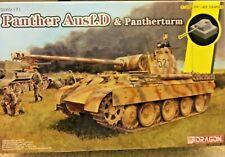 1/35 German Panther Ausf.D & Pantherturm -- Smart Kit Dragon #6940