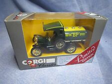 ZA247 CORGI CLASSICS FORD MODEL T MOTOR BP SPIRIT 1/43 C880 ED LIM NB