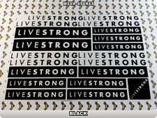 LIVESTRONG Stickers Decals  Bicycles Bikes Cycles Frames Forks Mountain MTB 56O