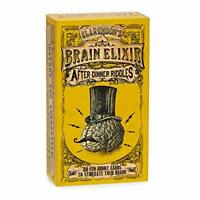Brain Elixir After-Dinner Riddles: The Brain-Teasing Pocket-Sized Card Game