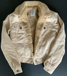Pull and Bear, Light Brown, Jacket, XS
