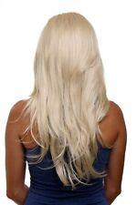 Clip-In Hair Piece 7 Clips half Wig Extension Blonde Light Blonde 60cm H9505-88