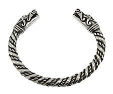 Artesanía Nórdica Vikingo Cabeza de Dragón Sólido brazalete pulsera nuevo con etiquetas! Cómpralo ya!