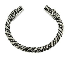 Handcraft Norse Viking Dragon Head Solid Cuff Bracelet NWT BIN