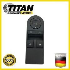 Para Opel Astra H Zafira B Delantero controladores secundarios Interruptor Ventana Eléctrica 13228706