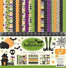 "ECHO PARK ""HAPPY HALLOWEEN"" 12X12 PAPER PACK FALL AUTUMN SCARY SCRAPJACK'S PLACE"