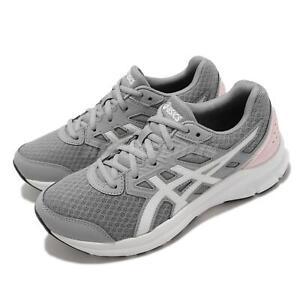 Asics Jolt 3 D Wide Grey Pink White Women Running Sports Shoes 1012A909-020