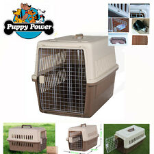 AIRLINE TRANSPORT COMPLIANT PET CARRIER, CRATE FOR DOGS 66 X 47 X 46CM - MEDIUM