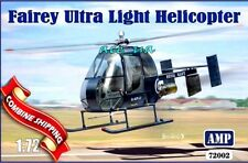 Fairey Ultra Light Helicopter (Decal, Resin/PE parts) Plastic Kit 1/72 AMP 72002
