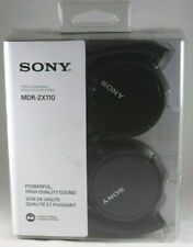 Sony MDR-ZX110 Stereo Extra Bass Monitor Headphones (Black)