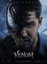 VENOM Affiche Cinéma Pliée 160x120 Movie Poster Preventive