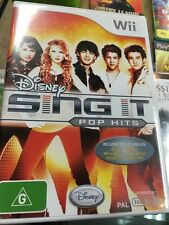 disney sing it pop hits wii