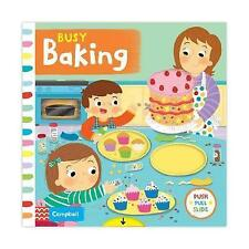 Busy Baking (Busy Books)-ExLibrary