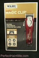 Wahl Professional 5-Star Cord/Cordless Magic Clip #8148 Fade Clipper 100-240VAC.