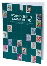 WHSmith World Series Stamp Book 64 Pages With Countries and 80 Animal STAMPS