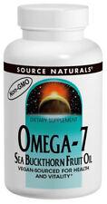 SOURCE NATURALS - Omega-7 Sea Buckthorn Fruit Oil - 30 Softgels