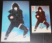 Paul Stanley Autograph Vintage KISS 1978 Milton Bradley AUCoin 4990 Puzzle w/Box