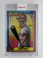 Topps Project70 Mike Trout by Alex Pardee Card #79 Venom Los Angeles Angels