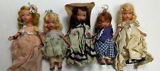 Asst. Lot Of 5 Vintage Storybook Nancy Ann Dolls #1