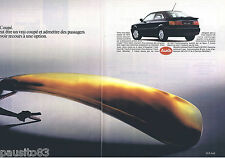 PUBLICITE ADVERTISING 105  1990  AUDI  AM   coupé  ( 2p)