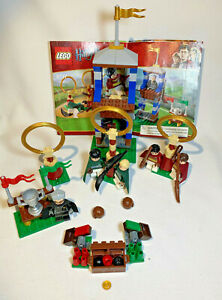 LEGO Harry Potter Quidditch Match 4737 100% Complete with Manual - no box