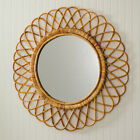 Nomad Rattan large Wall Mirror