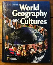 Glencoe WORLD GEOGRAPHY AND CULTURE National Geographic Boehm Textbook