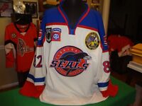 FLORIDA SEALS GAME WORN GOALIE JERSEY
