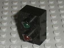Feu LEGO train 12v Electric Light Brick with Red & Green Signal x542 / set 7860