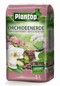 Orchideen Erde Plantop Premium-Qualität 5 Liter