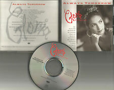GLORIA ESTEFAN Always tomorrow 1992 USA PROMO Radio DJ CD Single MINT ESK 74472