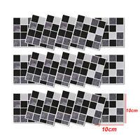 18* Kitchen Tile-Stickers Bathroom Mosaic Sticker Selfadhesive Home Wall Decor