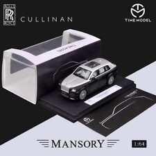 Pre Order Time Model 1:64 Rolls-Royce SUV CULLINAN Mansory Diecast Model Car