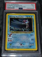 Holo Foil Shining Gyarados # 65/64 Neo Revelation Set Pokemon Cards PSA 3 VG