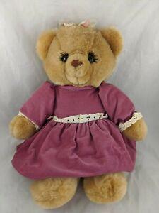 "Russ Bessie Bear Plush 15"" Stuffed Animal Toy"