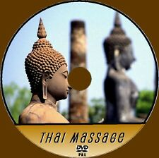 LEARN HOW TO THAI MASSAGE STEP BY STEP EXPERTS INSTRUCTION 4 BEGINNERS VIDEO DVD