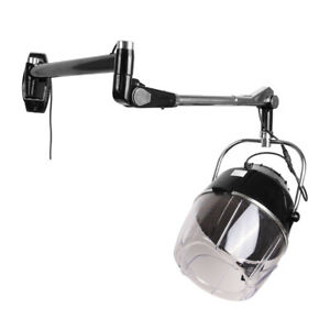 Salon Wall Mount Hair Hood Perming Dryer Heat Hairdressing Drying 900W Beauty
