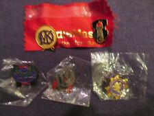Gen Con Pins x 5 from the early 2000s