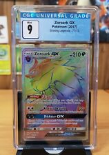 Pokemon Zoroark GX - 77/73 Shining Legends Secret Hyper Rare CGC 9 Mint