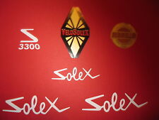 1 LOT DE 6  AUTOCOLLANTS  3300 SOLEX VELOSOLEX