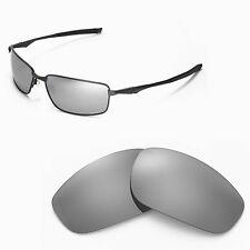 New Walleva Polarized Titanium Replacement Lenses For Oakley Splinter Sunglasses